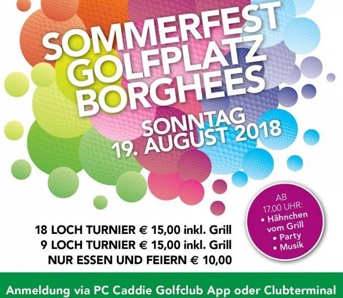 Sommerfest 2018: het grootste feest van Golfbaan Borghees!